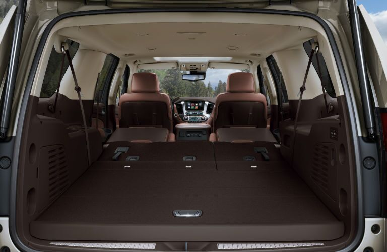 2016 Chevy Suburban with all seats folded down