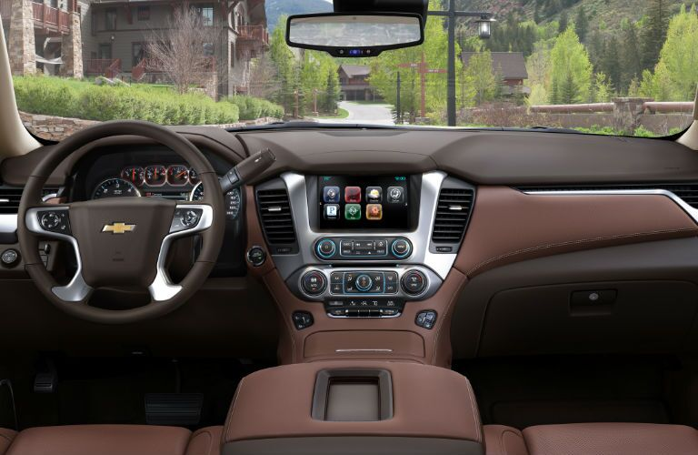 2016 Chevy Suburban interior colors