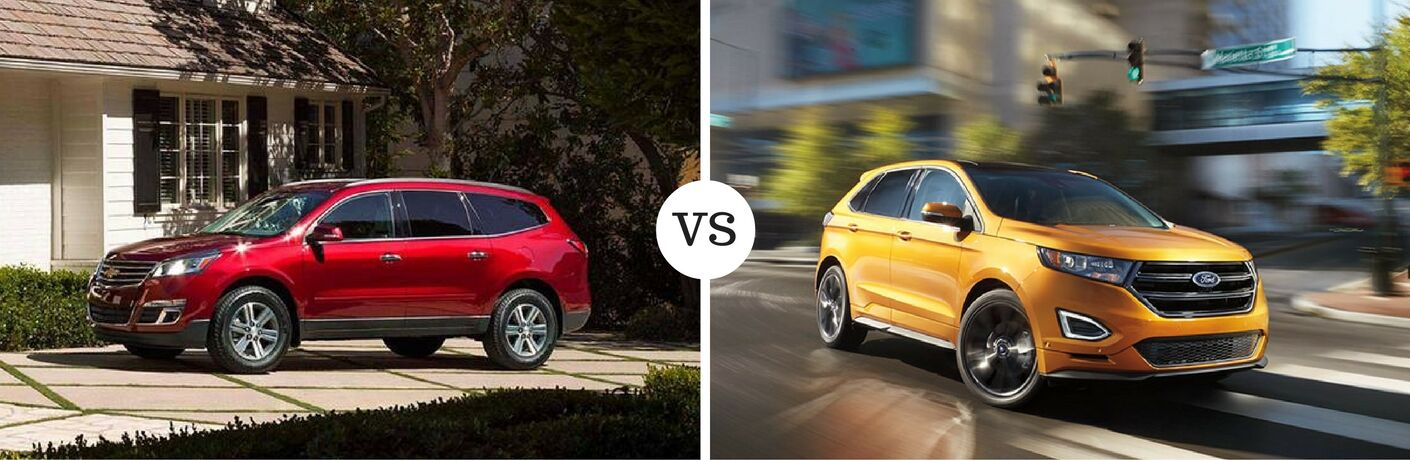2016 Chevy Traverse vs 2016 Ford Edge