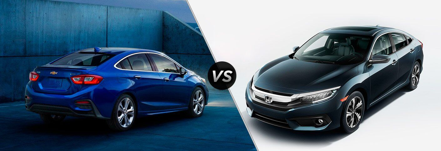 2017 Chevy Cruze vs 2017 Honda Civic