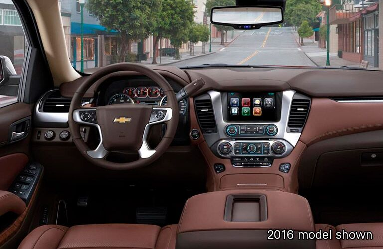 2017 Chevy Tahoe Navigation