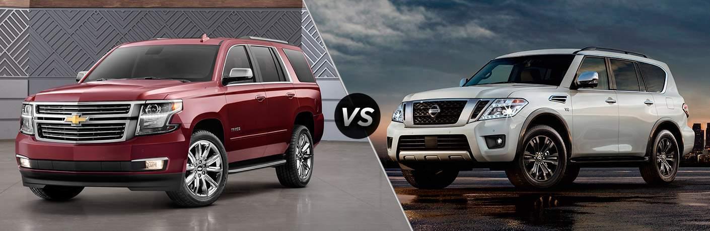 2017 Chevy Tahoe vs 2017 Nissan Armada