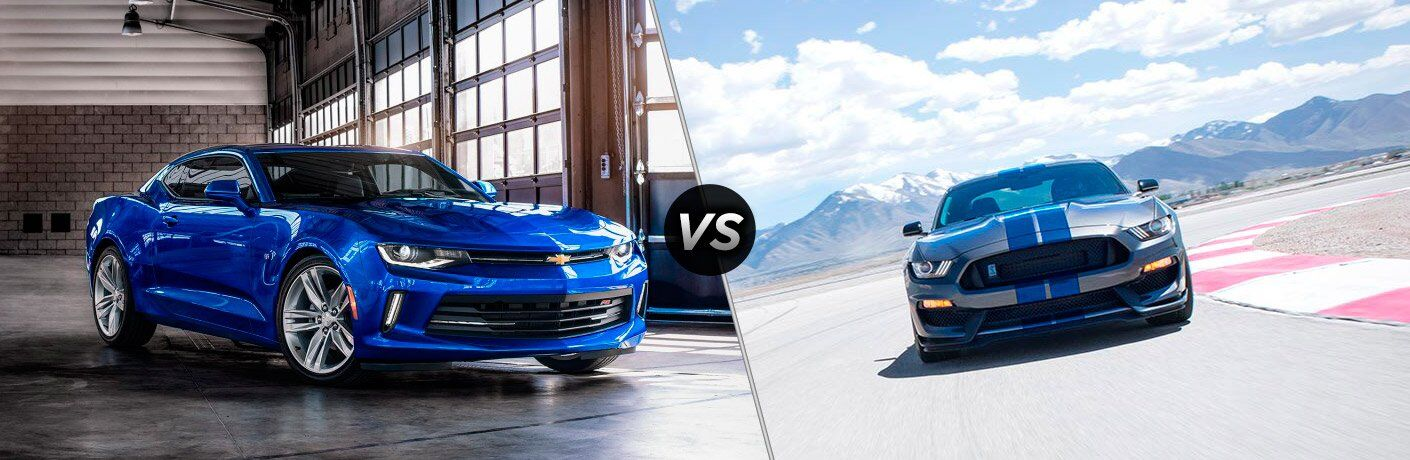 2017 Chevy Camaro vs 2017 Ford Mustang