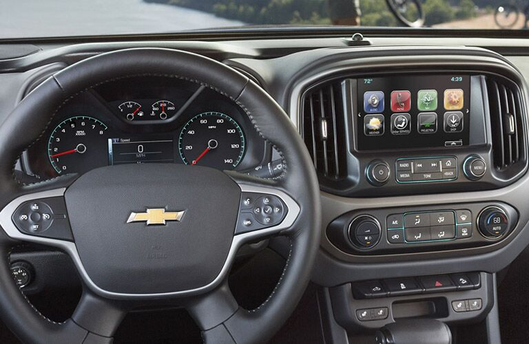 2017 Chevy Colorado Center Dash Display