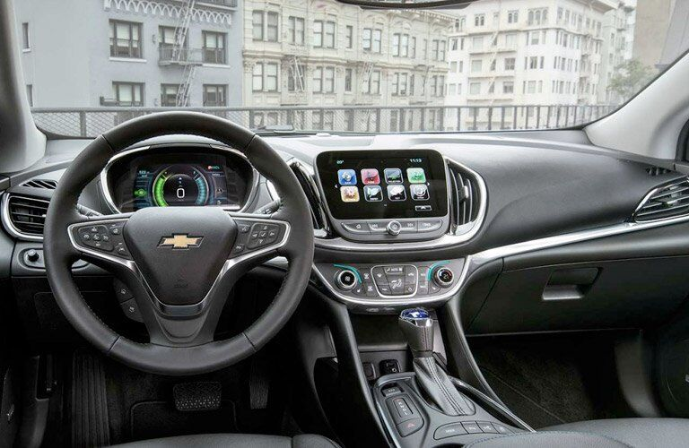 2017 Chevy Volt Energy Monitor and Infotainment