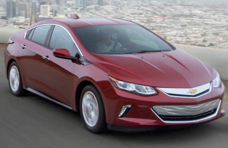 2017 Chevy Volt Grille View