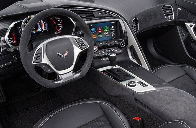 2017 Chevy Corvette Stingray Cockpit
