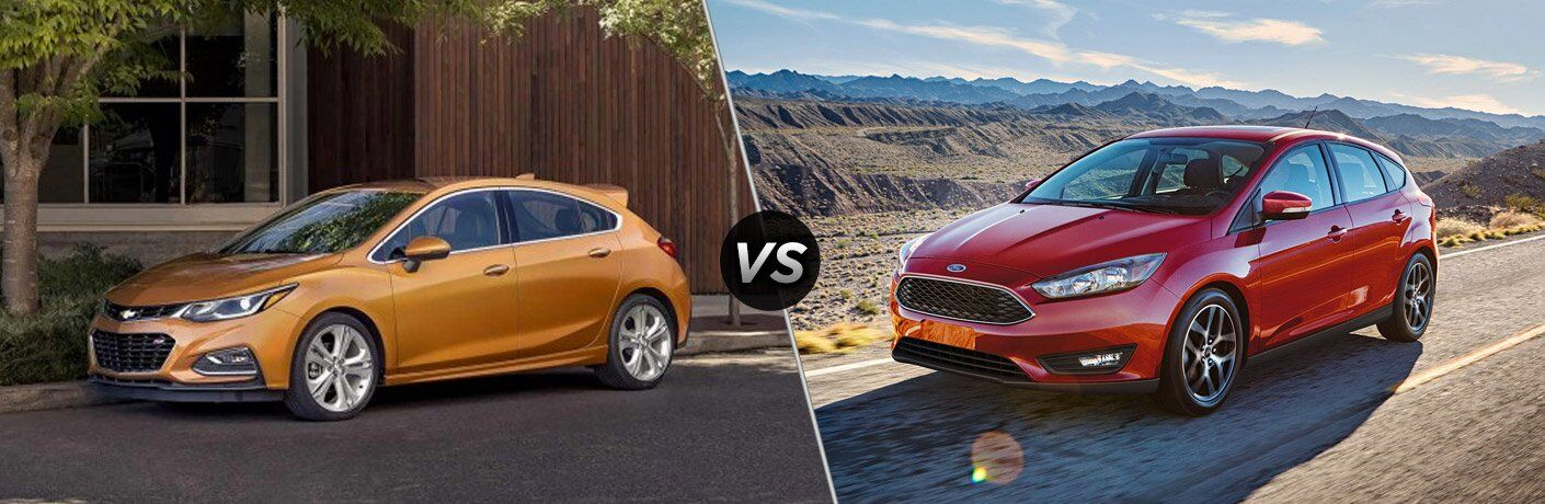 2017 Chevy Cruze vs 2017 Ford Focus