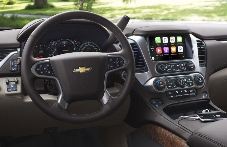 2017 Chevy Suburban with Apple CarPlay