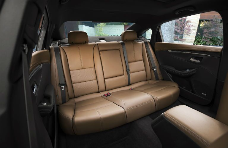 2017 Chevy Impala Backseat