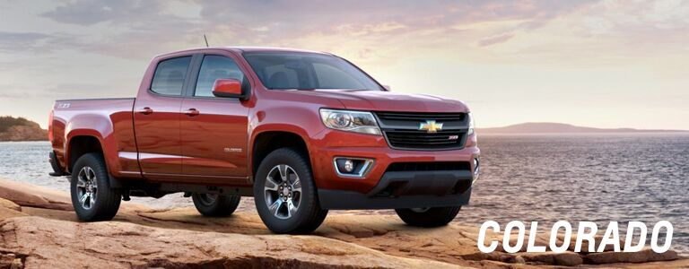 Chevy Colorado Red