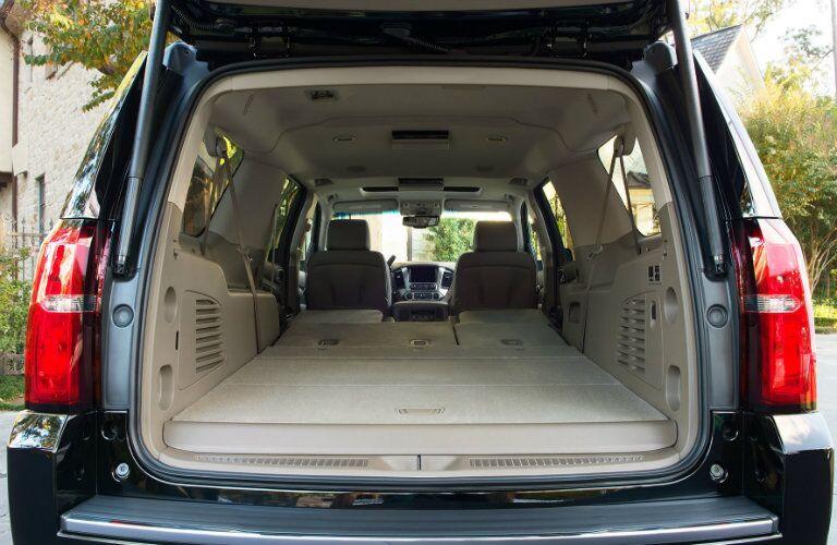 2017 Chevy Suburban Cargo Capacity