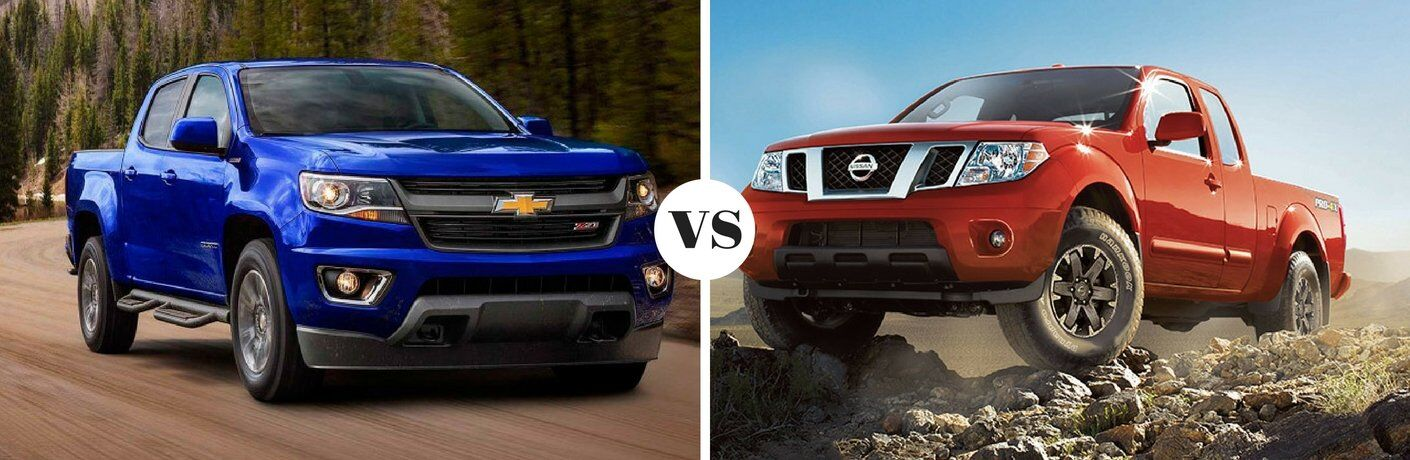 2017 Chevy Colorado vs 2017 Nissan Frontier