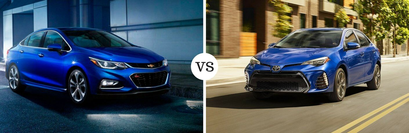 2017 Chevy Cruze vs 2017 Toyota Corolla