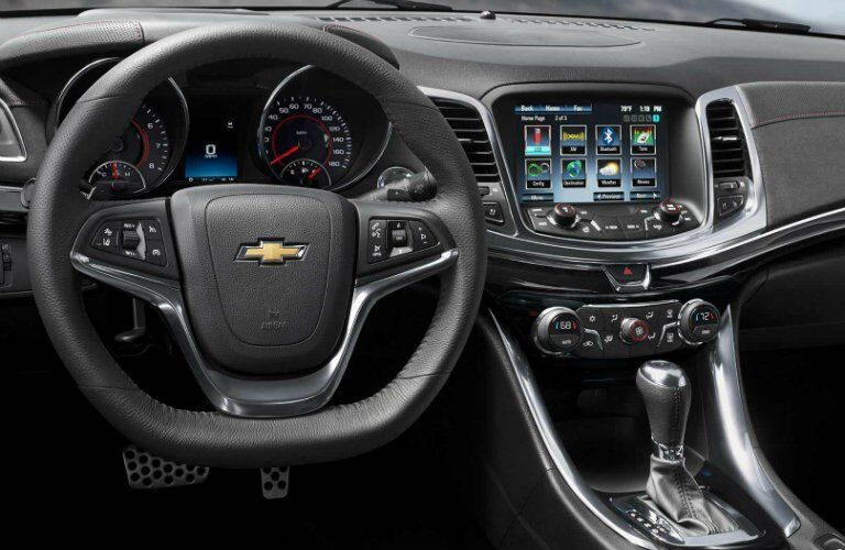 2017 Chevy SS Infotainment