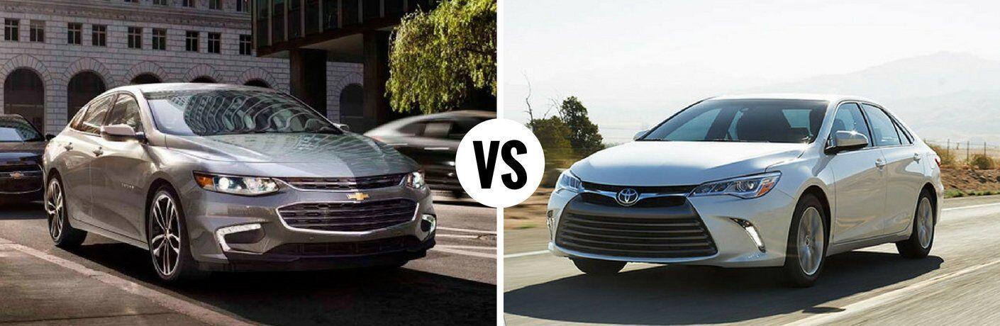 2017 Chevy Malibu vs 2017 Toyota Camry