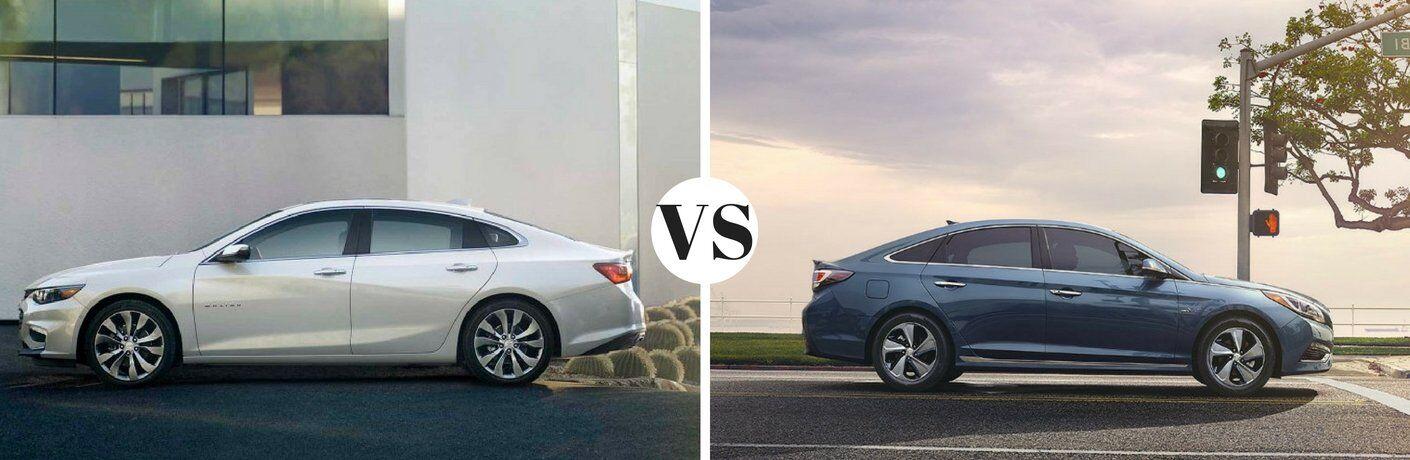 2017 Chevy Malibu vs 2017 Hyundai Sonata
