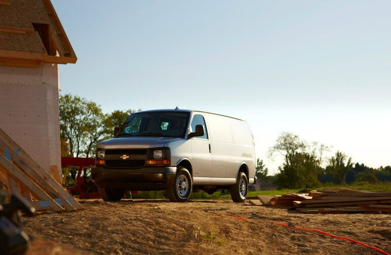 2016 Chevy Express Front