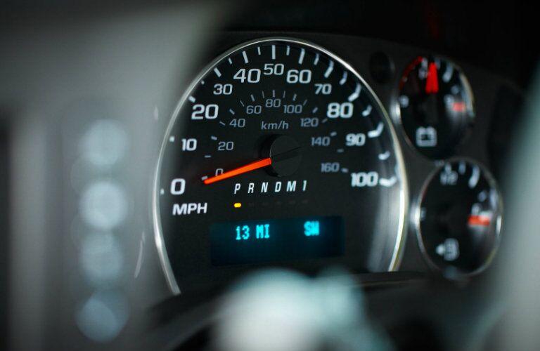 2017 Chevy Express Speedometer