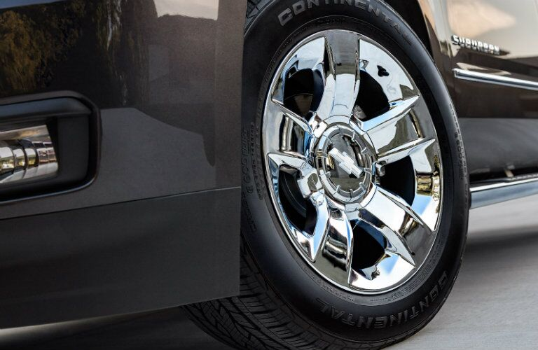 2017 Chevy Suburban Wheels