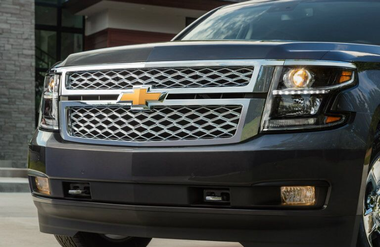 2017 Chevy Suburban Grille View