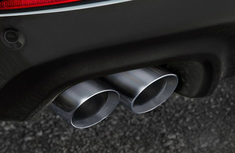 2017 Chevy SS Chrome tipped exhaust