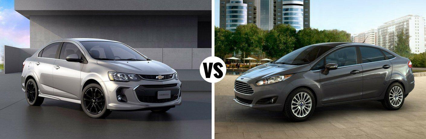2017 Chevy Sonic vs 2017 Ford Fiesta