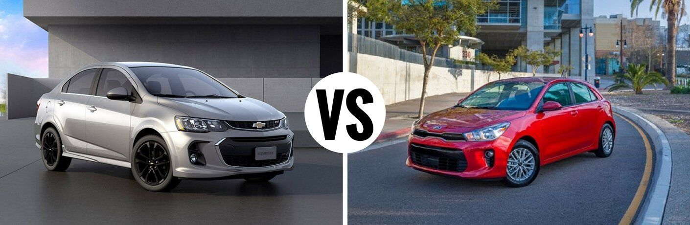 2017 Chevy Sonic vs 2017 Kia Rio