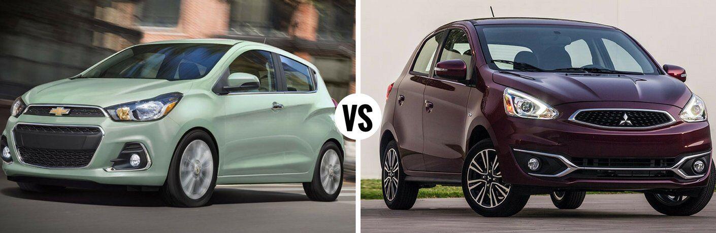 2017 Chevy Spark vs 2017 Mitsubishi Mirage