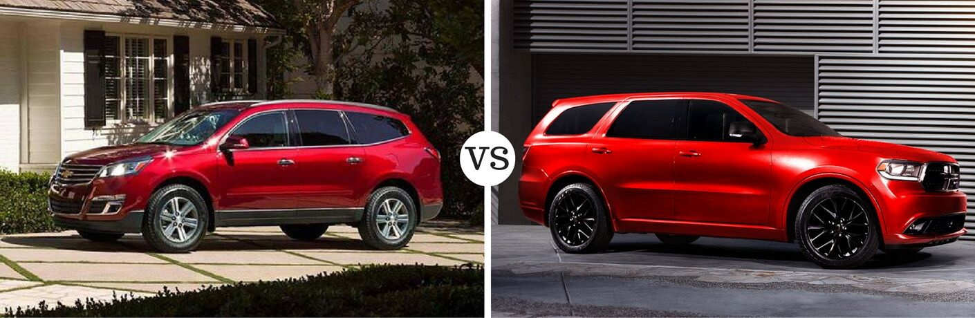 2016 Chevy Traverse vs 2016 Dodge Durango