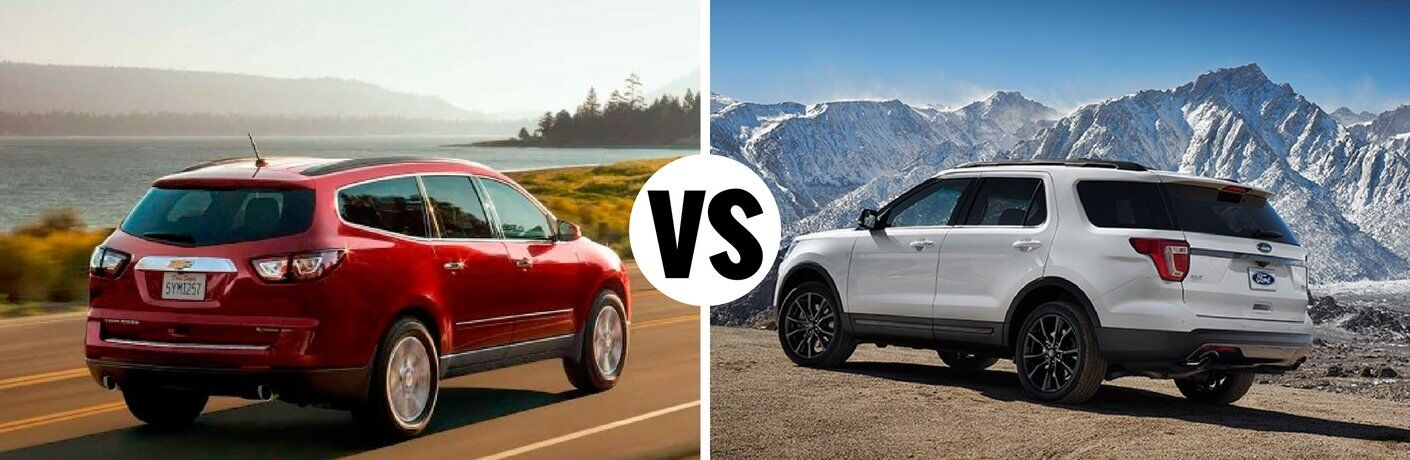 2017 Chevy Traverse vs 2017 Ford Explorer
