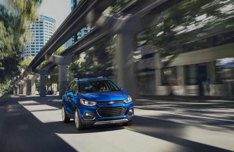 2017 Chevy Trax Grille View