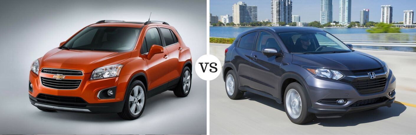 2017 Chevy Trax vs 2017 Honda HR-V
