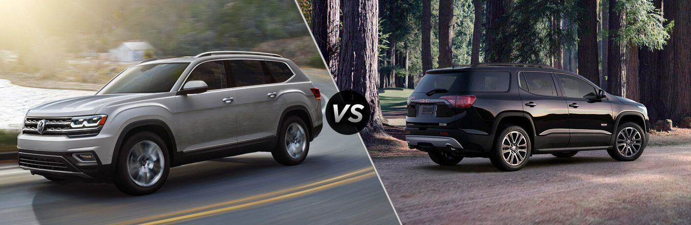 2018 Volkswagen Atlas vs 2018 GMC Acadia