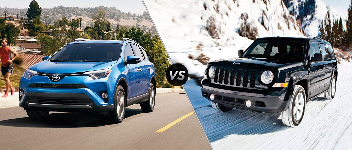 2016 toyota rav4 vs 2016 jeep patriot