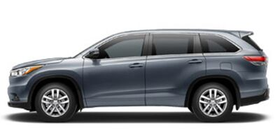 New 2017 Toyota Highlander LE Burlington NC