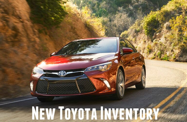 New inventory Cox Toyota