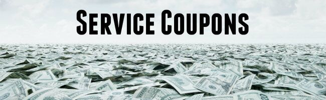 Service coupons at Cox toyota