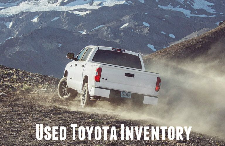 Used inventory Cox Toyota