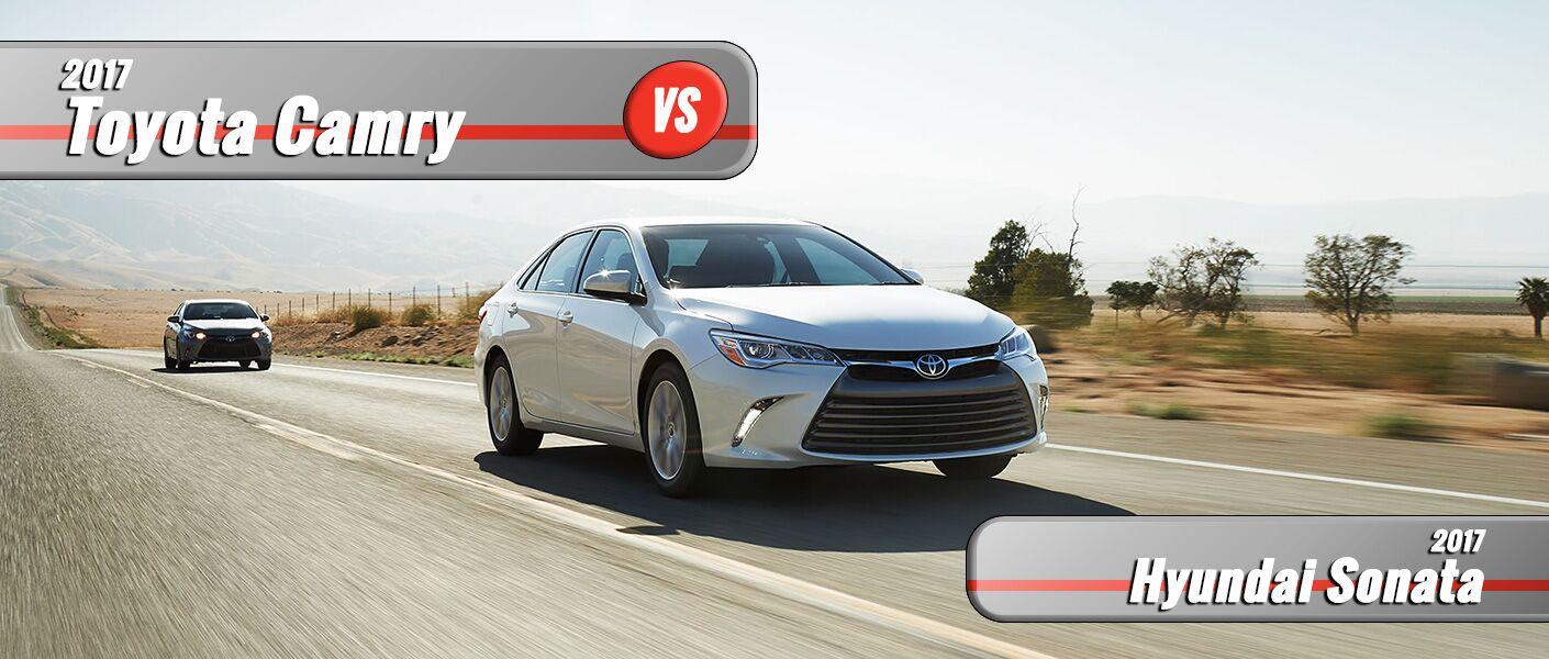 New 2017 Toyota Camry vs 2017 Hyundai Sonata