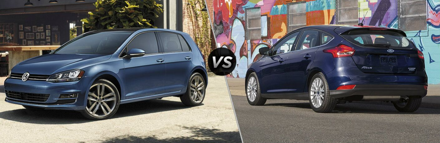 2016 Volkswagen Golf vs 2016 Ford Focus Hatch