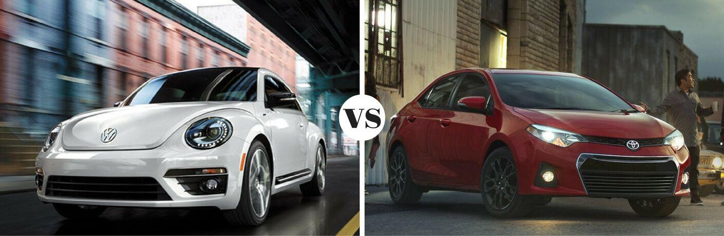 2016 Volkswagen Beetle vs 2016 Toyota Corolla