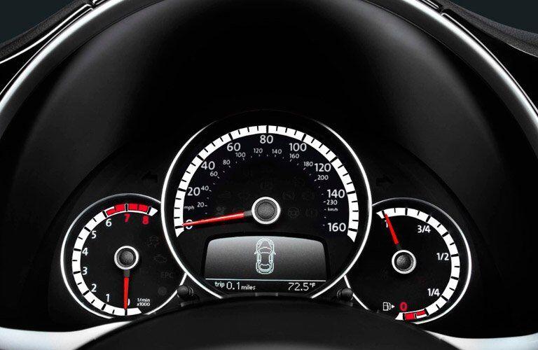 2017 Volkswagen Beetle Gauges