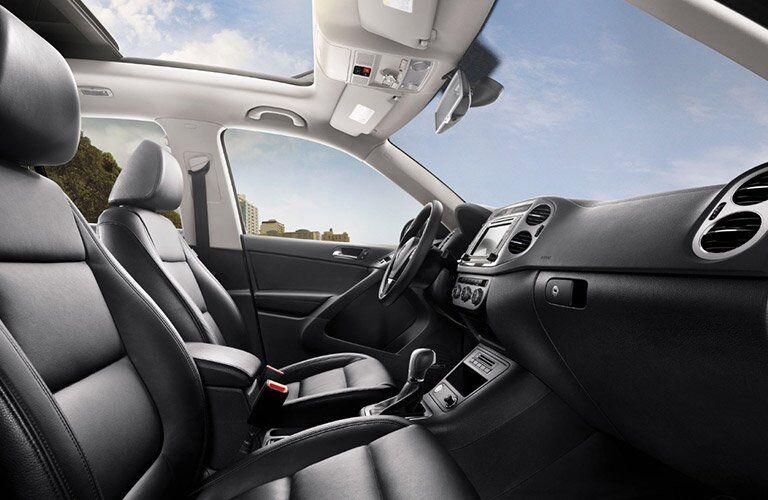 2017 Volkswagen Tiguan Front Seating