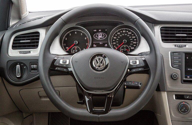 2017 Volkswagen Golf SportWagen Steering Wheel