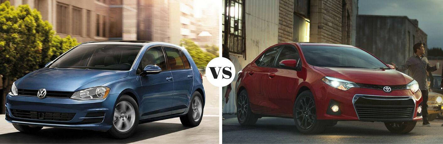 2017 Volkswagen Golf vs 2017 Toyota Corolla