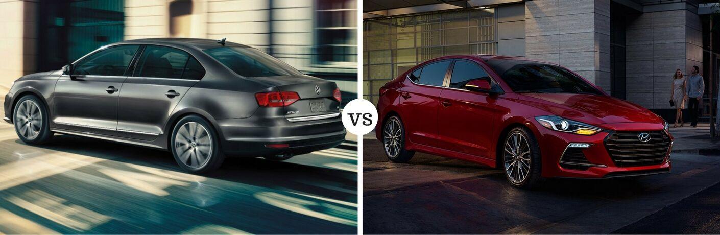 2017 Volkswagen Jetta vs 2017 Hyundai Elantra