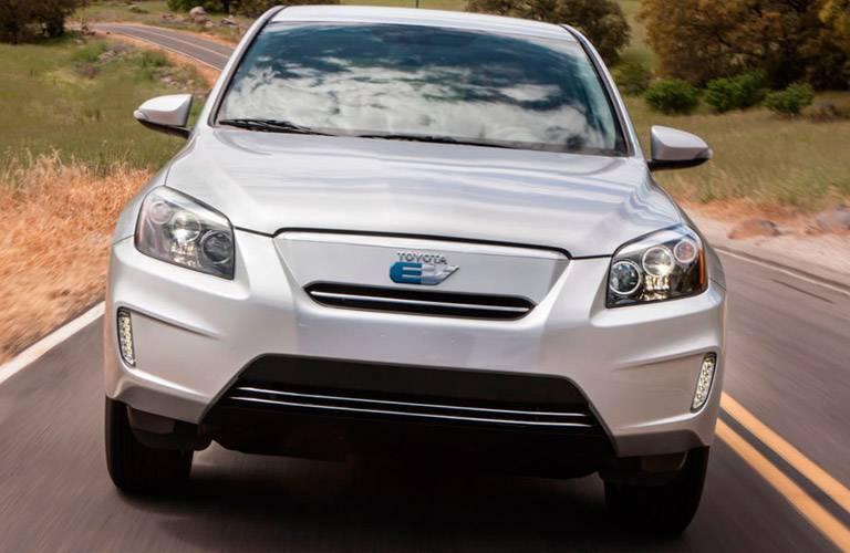 Toyota RAV4 Hybrid front profile