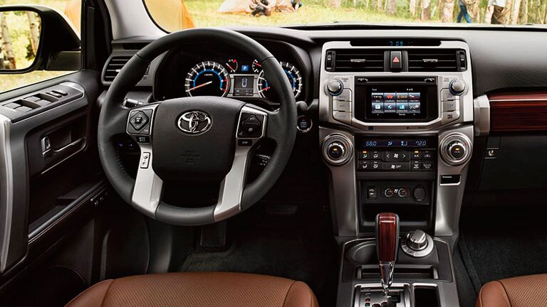 2015 Toyota 4Runner interior