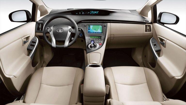 2015 Toyota Prius interior